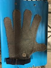 LARGE REVERSIBLE STAINLESS STEEL MESH CUTTING GLOVE