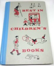 Best in Children's Book Nelson Doubleday Inc. Hardcover 1960 Vintage Kids Book