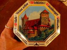 Germany Cookie Tin Wicklein Nurnberger Octogon Schutz Marke