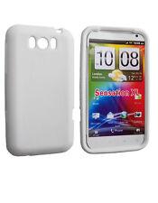 Housse silicone blanche HTC Sensation XL