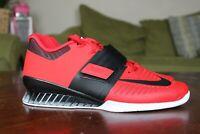 Nike Romaleos 3 Weightlifting Training Shoes University Red 852933-603 Multi Sz