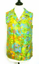 Psychedelic 1960s Vintage Tops & Shirts for Women