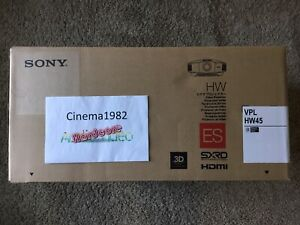 Sony VPL-HW45ES 1080p 3D SXRD Home Theater Projector! NEW