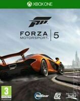 FORZA MOTORSPORT 5 - XBOX ONE - MINT - 1st Class Super Fast & Free Delivery
