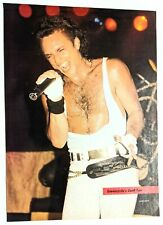 Queensryche / Geoff Tate Live / Magazine Full Page Pinup Poster Clipping (3)