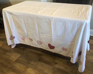 "Pottery Barn Kids Tablecloth 66"" x 82"""