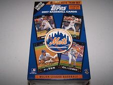 2007 Topps Mets Premium Team Set Limited Edition 55 Card Set Factory Sealed