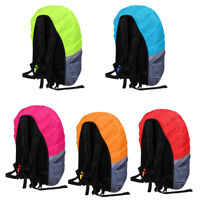 Reflective Backpack Cover Waterproof Camping Hiking Rucksack Bag Rain Dust Cover