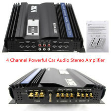 3800 Watts 4 CH Channel Powerful V12 Car Auto Vehicle Stereo Amplifier Amp 4Ohm