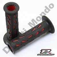 Progrip Black & Red Race Grips Soft for Ducati Aprilia Cagiva MV Agusta Corse