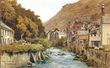 Devon: The Lyn Valley, Lynmouth - Unposted 1920's - AR Quinton #3932