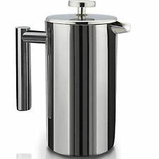 SterlingPro French Coffee Press  1L Coffee And Espresso Maker - Stainless Steel