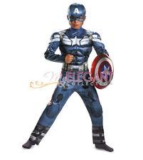 Marvel Avengers Ultron Captain America Children Kids Boys Halloween Costume 5-6Y