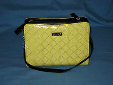 MICHE BAG PETITE shell CAMI Handbag Purse lime green EUC!