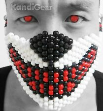 Red Wolf Kandi Mask From KandiGear, Rave gear and rave costumes for festivals