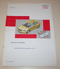 Audi A3 8P/8PA Elektrik - SSP 312 -  Stand 2003!