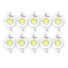 50pcs 3w warm White 4000k 4500k LED Beads diode chip lamp