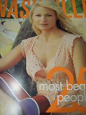 Jewel Covers Nashville Lifestyles 25 Most Beautiful Magazine October 2008