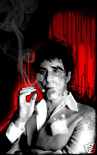 SCARFACE AL PACINO Art Canvas Print