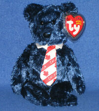 TY POPS the BEAR BEANIE BABY - MINT CANADA VERSION