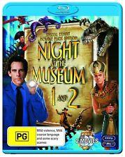 Night At The Museum 1 & 2 Blu Ray New Region B, Ben Stiller