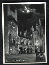 c1950s View of Como Cathedral at Night