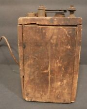 Vintage Ford Script Model A/T Wooden Ignition Coil Box/Pack 1920's Buzz Box