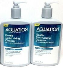 2 lot Aquation Gentle Moisturizing Cleanser 16 Oz