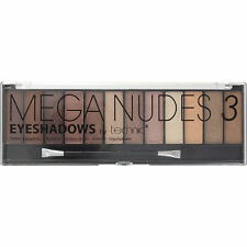 Technic Mega Nudes 3 12 Colour Eyeshadow Palette