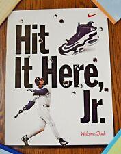 "1990's KEN GRIFFEY JR ""Hit it Here, Jr."" NIKE 18x24"" Poster"