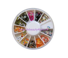 FIMO FACE  MIX NAIL ART DESIGN CRAFT SLICE FOR NAILS WHEEL FC1