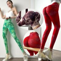 Women's Compression High Waisted Workout Leggings Ruched Butt Running Yoga pants