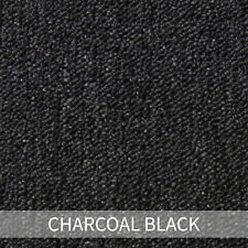 20 X Charcoal Black Carpet Tiles 5m2 Heavy Duty Commercial Grey Premium Flooring