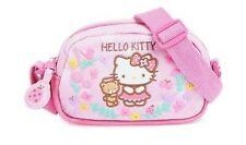 Sanrio Hello Kitty Children's Pink Flower Shoulder Pouch Hand Bag Purse