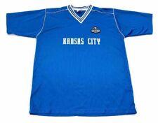 Sporting Kansas City Wizards Teamwear Challenger Sports Mens Jersey Blue White L