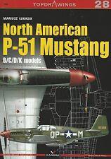 Kagero Topdrawings 28: North American P-51 Mustang B/C/D/K Models