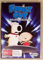 Family Guy - Season Eleven (3 Disc Set) DVD in GREAT condition (Region 4)
