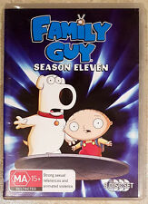 Family Guy - Season Eleven (3 Disc Set) DVD in GREAT condition (Region 4)