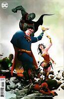 Justice League Comic 21 Variant First Print 2019 Scott Snyder Jimenez DC