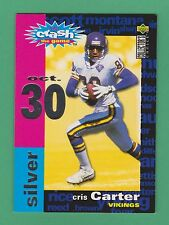 1995 Upper Deck Collector's Choice You Crash The Game Silver Cris Carter #C21