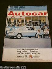 MOTOR MAGAZINE - NEW 1966 MODELS - SEPT 17 1965