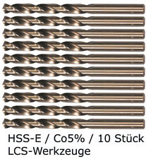 10 x HSS-E Spiralbohrer 2,0 mm Cobalt Kobalt CO5% HSS-CO HSSE VA V2A V4