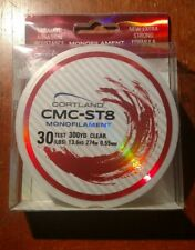30 LBS Test x 300 YD Cortland CMC-ST8 Monofilament Fishing Line - New in Package