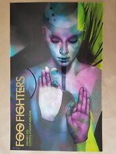 Foo Fighters Adelaide 2018 Concert Poster Art Ben Oliver Limited Edition 295