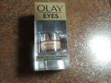 Olay Eyes for dark circles wrinkles, and puffiness .4 oz. NIB