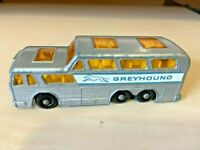 VINTAGE MATCHBOX SERIES NO. 66 GREYHOUND COACH MADE IN ENGLAND BY LESNEY