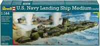 Revell Gmbh Plastic Kits #05123 1/144 U.S.Navy Landing Ship Medium (Early)(2014)