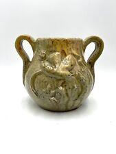 Vase André Rozay gres la borne arts ceramique 1943 signé Androz 1943
