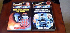 DOCTOR WHO THE DALEKS MASTERPLAN 1/2 John Peel 2nd Target Books Lot of 2 UK PB's