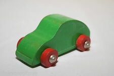 WOODEN WOOD VW VOLKSWAGEN BEETLE KAFER CAR GREEN EXCELLENT CONDITION